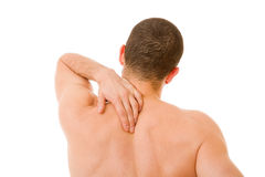 Back in pain Stock Photography