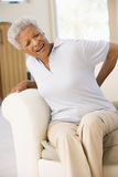 back pain woman Στοκ εικόνα με δικαίωμα ελεύθερης χρήσης
