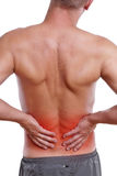 Back pain Stock Photography
