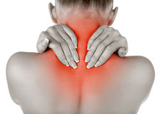 Back pains Stock Images