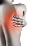 Back pains Stock Photography