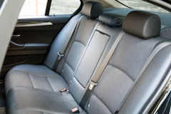 Back passenger car seats Stock Image