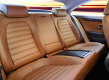 Back passenger seats Royalty Free Stock Images