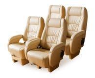 Back passenger seats. Stock Photo
