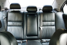 Back passenger seats in a car Royalty Free Stock Photos