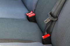 Back passenger seats in a car Stock Photography