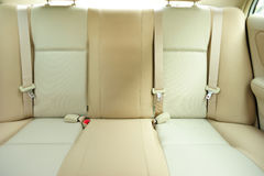 Back passenger seats in car Royalty Free Stock Photo