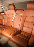 Back passenger seats in modern car Royalty Free Stock Photography