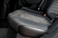 Back passenger seats in modern car. Royalty Free Stock Photography
