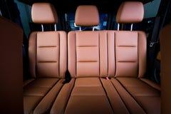 Back passenger seats Royalty Free Stock Images