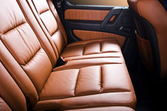 Back passenger seats royalty free stock photography