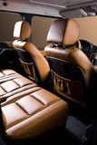 Back passenger seats royalty free stock image