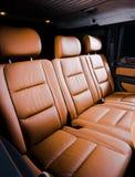 Back passenger seats royalty free stock photos