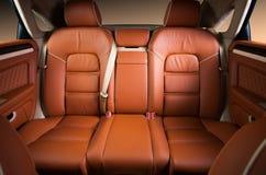 Back passenger seats stock photography