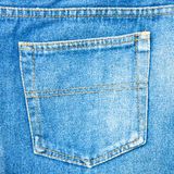 Back pocket denim. Stock Image