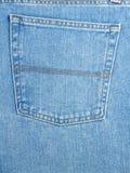 Back pocket on jeans Stock Photography
