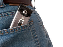 Back Pocket Series - Cel Royalty Free Stock Photo