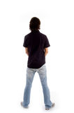 Back Pose Of Standing Male Royalty Free Stock Images