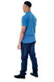Back pose of young male Stock Images