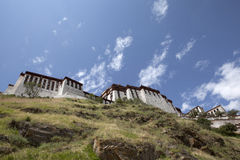 Back of the Potala. Lhasa,tibet Stock Images