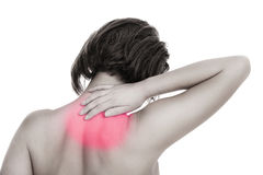 Back problems Royalty Free Stock Photography