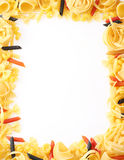 Back projected (lighted) macaroni Royalty Free Stock Photos