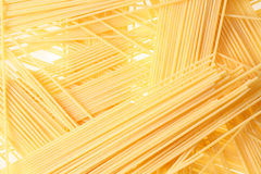 Back projected (lighted) spagetti Stock Image