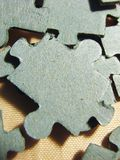 Back of puzzle Royalty Free Stock Images