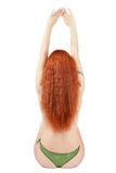 Back of redhead Royalty Free Stock Photography