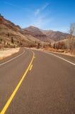 Back Road Through Wallowa Mountains Oregon Stock Image