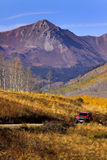 Back roads in San Juan mountains Stock Photos
