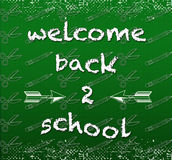 Back 2 School Royalty Free Stock Photos