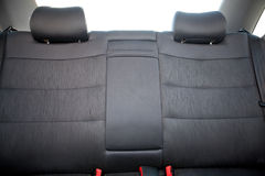 Back seat of the car Stock Photos