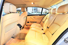 Back seats of bmw Stock Image