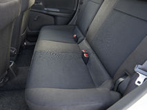 Back seats of an used car Royalty Free Stock Images