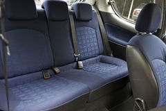 Back seats of an used car Royalty Free Stock Image