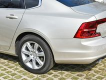 Back side of a car. Outdoor Royalty Free Stock Image