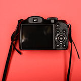 . Back side of a digital camera Royalty Free Stock Photos