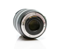 Back side dslr lens Royalty Free Stock Photography