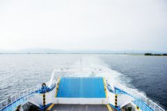 Back side of a ferry Stock Photography