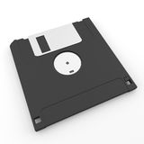 Back side floppy disk Royalty Free Stock Photography
