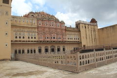 Back Side In Hawa Mahal Stock Photos