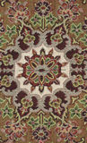 Persian carpet. Back side of Iranian carpets in a nice design Royalty Free Stock Photo