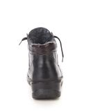 Back side of leather boot. Royalty Free Stock Image