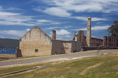 Back side of the penitentiary building of Port Arthur Royalty Free Stock Photos