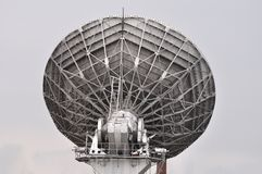 Satellite television system antenna Royalty Free Stock Photography