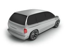 Back side car Royalty Free Stock Image