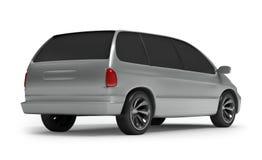 Back side vagon car Royalty Free Stock Image