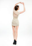 Back side view of a woman Royalty Free Stock Photo