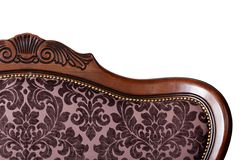 Back of a sofa close up Royalty Free Stock Photos